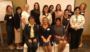 female group of program attendees